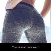 7 days butt workout icon