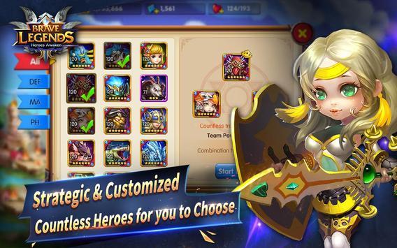Brave Legends screenshot 11