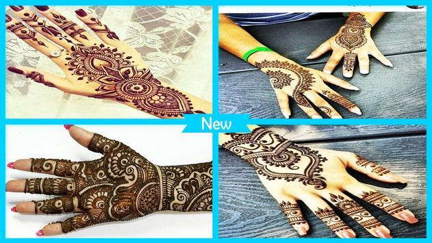 Beauty Hand Mahndi Design poster