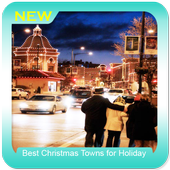 Best Christmas Towns for Holiday icon
