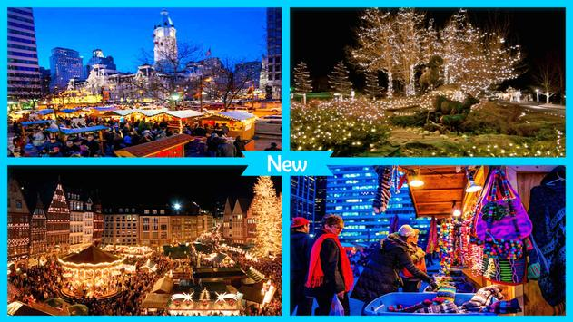 Best Christmas Towns for Holiday poster