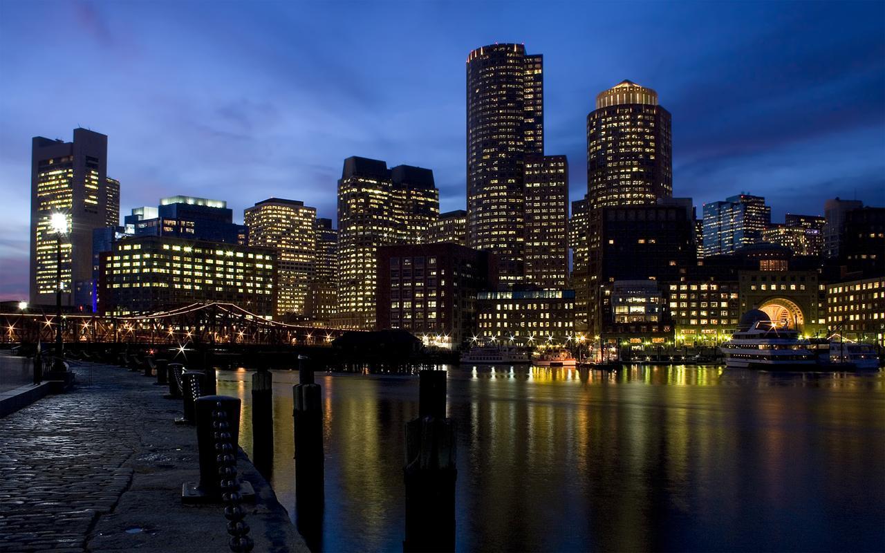 Boston City Wallpaper