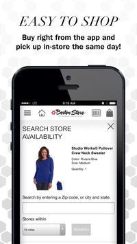 Boston Store apk screenshot