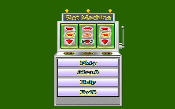 Romantic Slot Machine screenshot 1