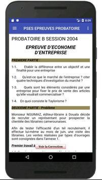 VITAMINE JPED Examen 1ère SES screenshot 1