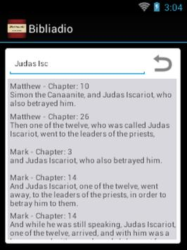 Bibliaudio apk screenshot