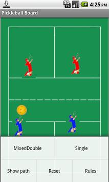 Pickleball Tactics Board Lite apk screenshot