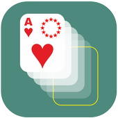 Poker move up icon