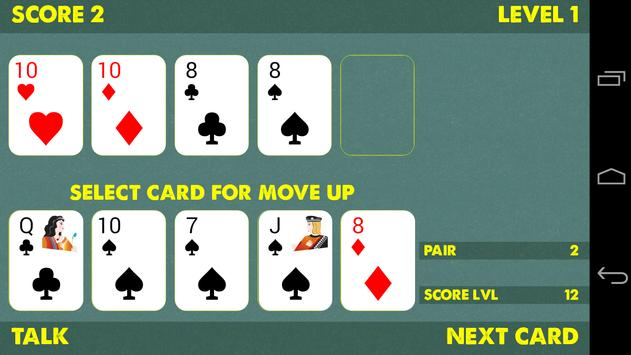 Poker move up screenshot 1