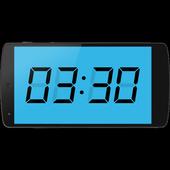 LCD Clock icon