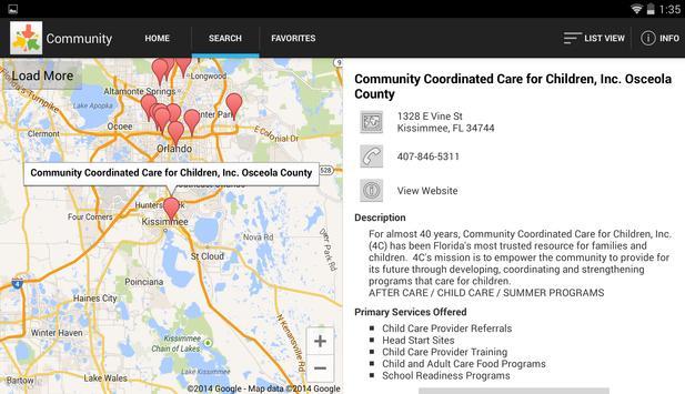 Central Florida Resource Point apk screenshot