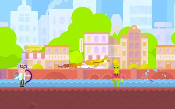 Happy Bowman Run Bowmaster screenshot 6