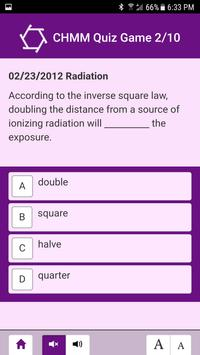 CHMM Quiz Game screenshot 2