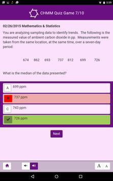 CHMM Quiz Game screenshot 9