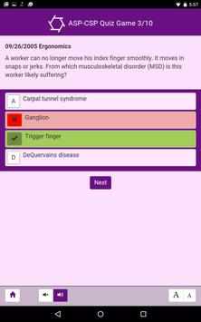 ASP-CSP Quiz Game screenshot 9