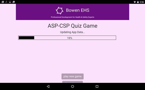 ASP-CSP Quiz Game screenshot 12