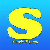 Simple Signing icon