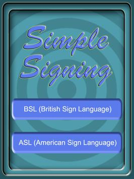 Simple Signing poster