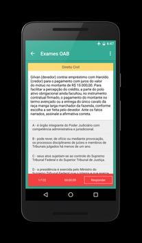 Exames OAB apk screenshot