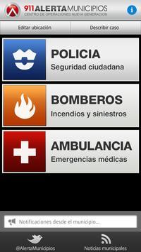 911 Alerta Municipios screenshot 1