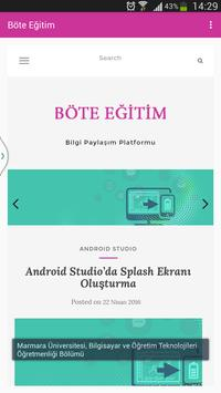 BöteEğitim screenshot 4