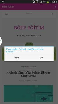 BöteEğitim screenshot 5