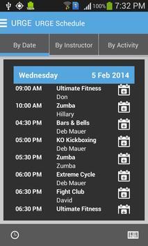 Urge Fitness apk screenshot