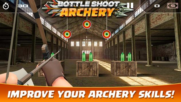 6 Schermata Bottle Shoot Archery