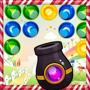 Bouncing bubble Shooter poster