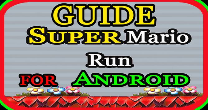 guide Super Mario Run android poster