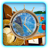 Travel Compass Beach HD LWP icon