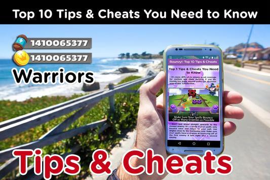 Bounzy! Warriors Cheats: Tips & Strategy Guide screenshot 4