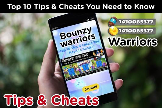Bounzy! Warriors Cheats: Tips & Strategy Guide poster