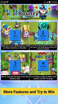 Bounzy! Warriors Cheats: Tips & Strategy Guide screenshot 3