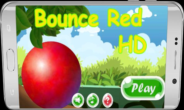bounce red HD poster