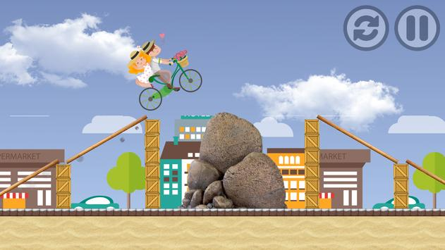 Girlfriend & Boyfriend Bicycle apk screenshot