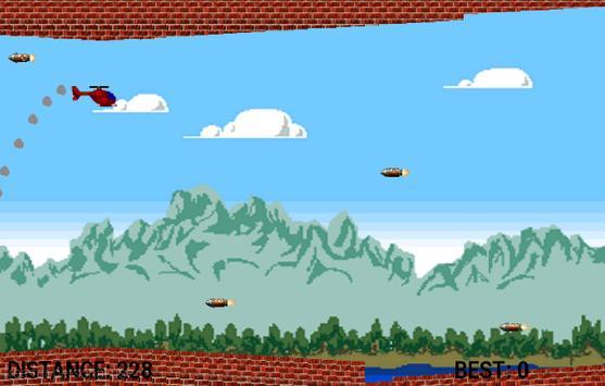 Flappy Helicop Pro apk screenshot