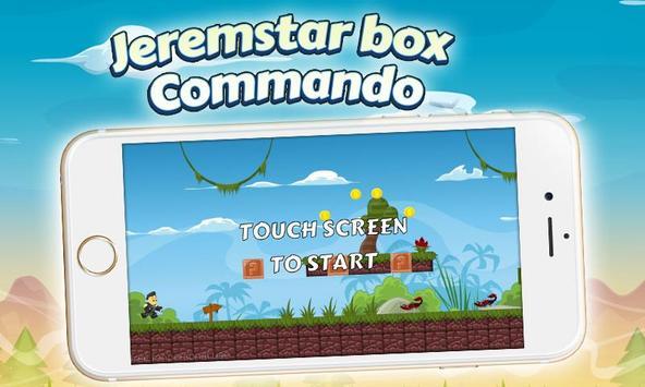 Jeremstar box Commando Game apk screenshot
