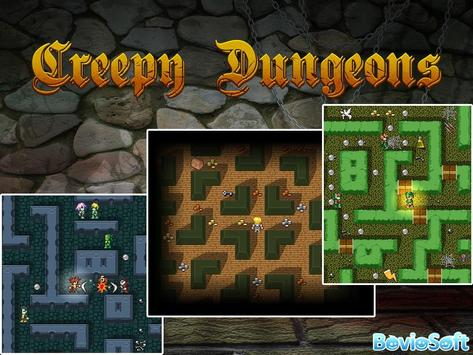 Creepy Dungeons : Arcade + RPG apk screenshot
