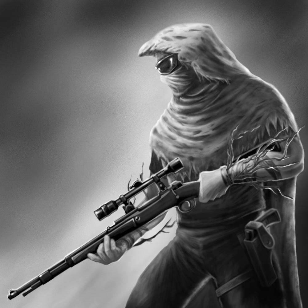 Киллер с винтовкой картинки