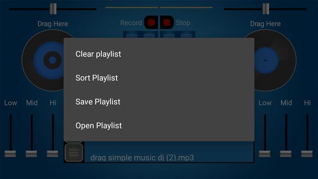 DJ Mobile Mixer 2018 screenshot 1