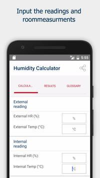 Cornerstone Humidity Calculator (Basic) poster
