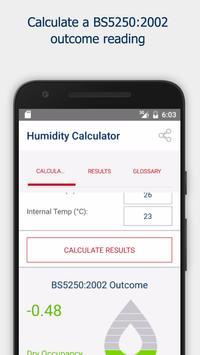 Cornerstone Humidity Calculator (Basic) screenshot 1