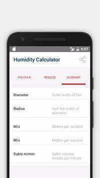 Cornerstone Humidity Calculator (Basic) screenshot 2