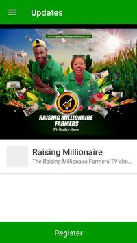 Raising Millionaire Farmers poster