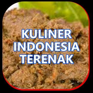 Kuliner masakan indonesia terenak poster
