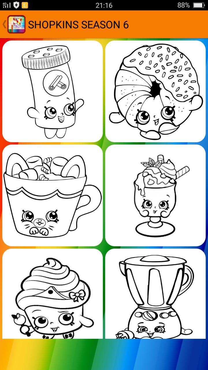 Coloring Pages For Shopkins For Android Apk Download