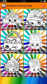 Coloring Pages For Shopkins Poster