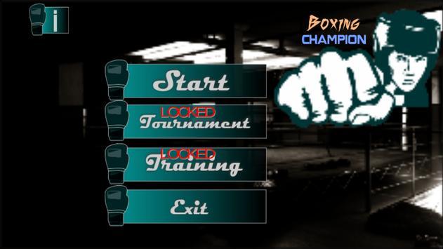 Legend Boxer Boxing Champ 3D poster