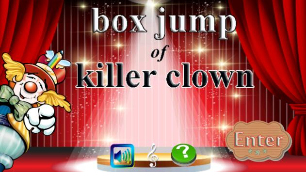 Box Jump of Killer Clown Game apk screenshot